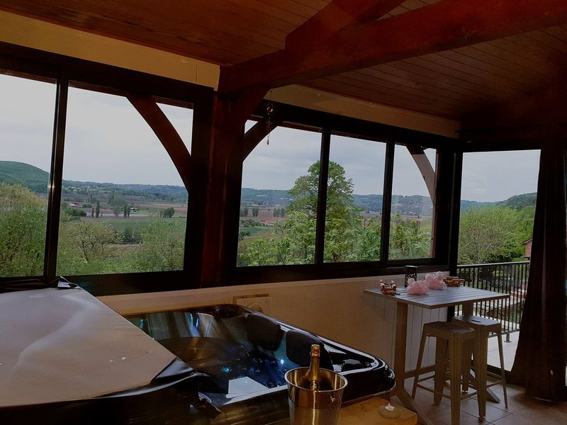 NiD'Amour Gîte avec SPA privatif, vacation rental in Berbiguieres