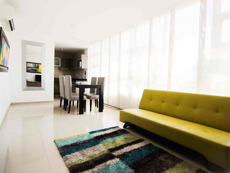 LINDO APARTAMENTO 2 HAB EDF ITHIEL BARRANQUILLA, alquiler vacacional en Barranquilla