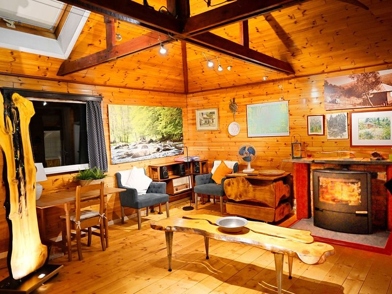 Vintage Chalet in Sougné-Remouchamps near Forest, holiday rental in Aywaille