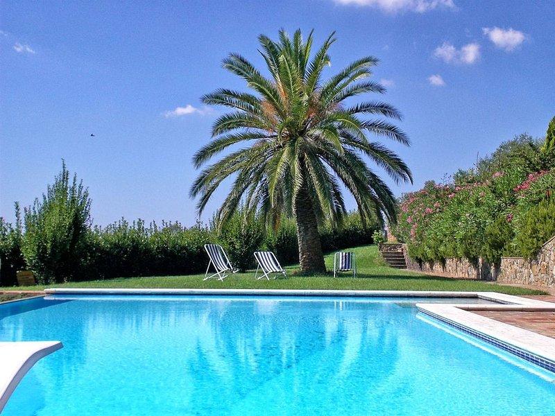 Villa Santa Chiara, Gavorrano, Grosseto and Maremma, holiday rental in Bagno di Gavorrano