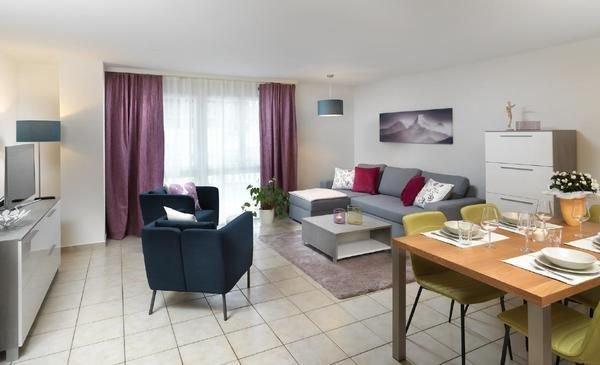 Ferienwohnung Stalden für 4 - 6 Personen mit 2 Schlafzimmern - Ferienwohnung in, alquiler de vacaciones en Wilen