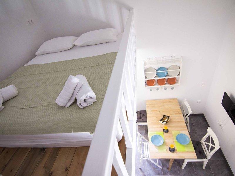 Aegli apartments WHITE, holiday rental in Ano Symi