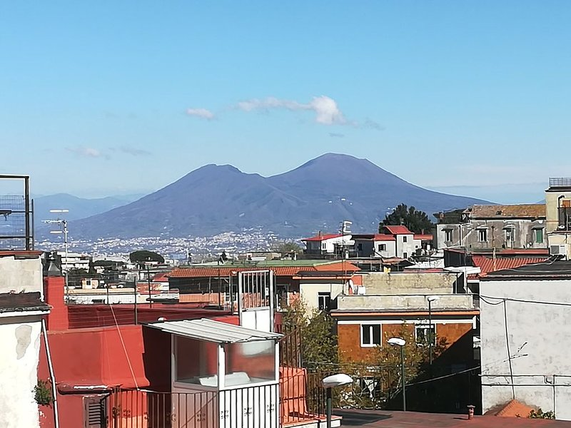 Casa vacanze panoramica con vista sul Vesuvio, holiday rental in Marano di Napoli