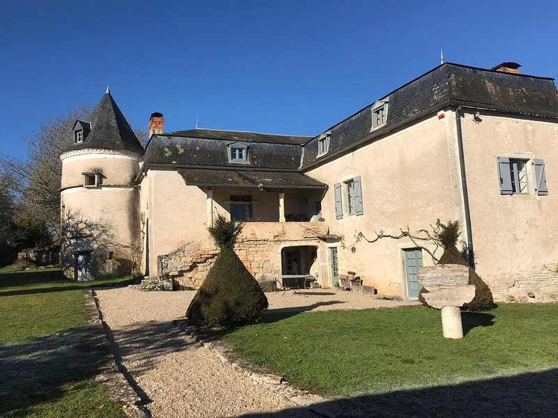 Font d'Erbies: A luxurious farmhouse in rural South West France, holiday rental in Lalbenque