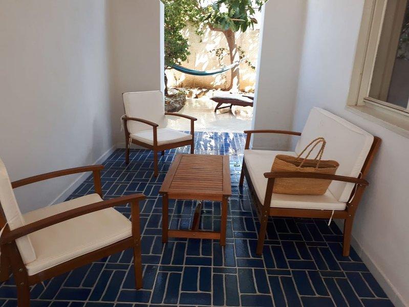 Casa Sandra. San Lorenzo 3 strada Noto mare, holiday rental in San Lorenzo