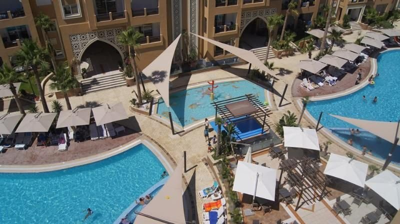 Apartment sea upfront private beach FOLLA Resort, vacation rental in Sousse