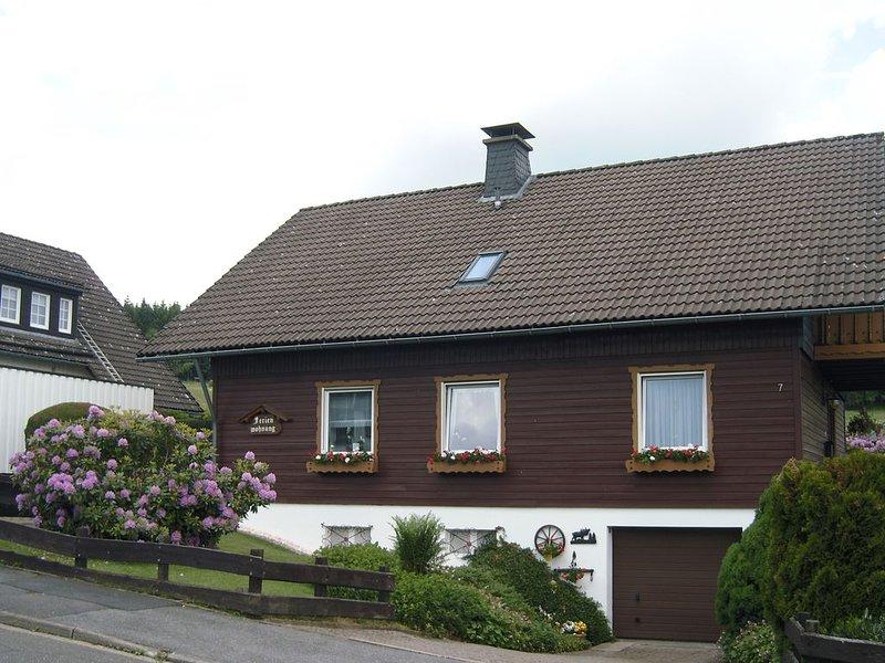 Ferienwohnung Windten  -  Urlaub direkt am Wald, location de vacances à Hohegeiss