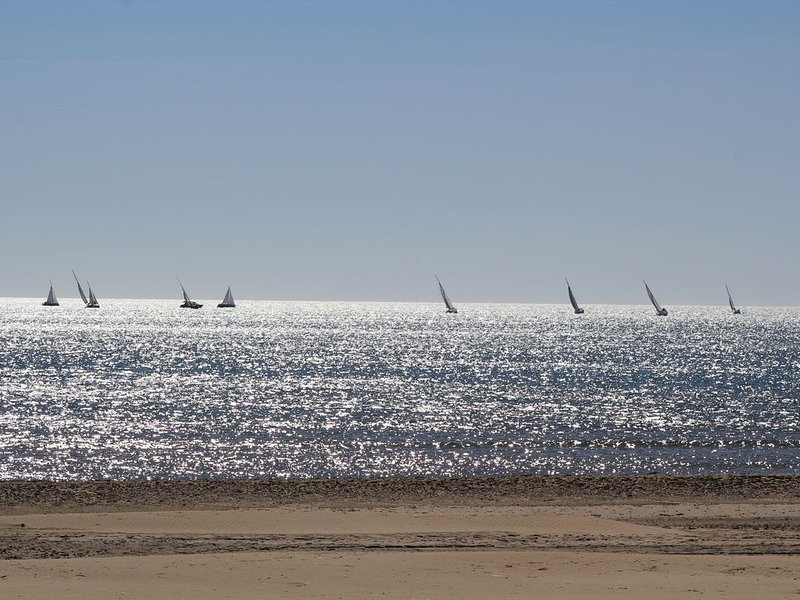 Mediterranean beach, 8 minutes from the house