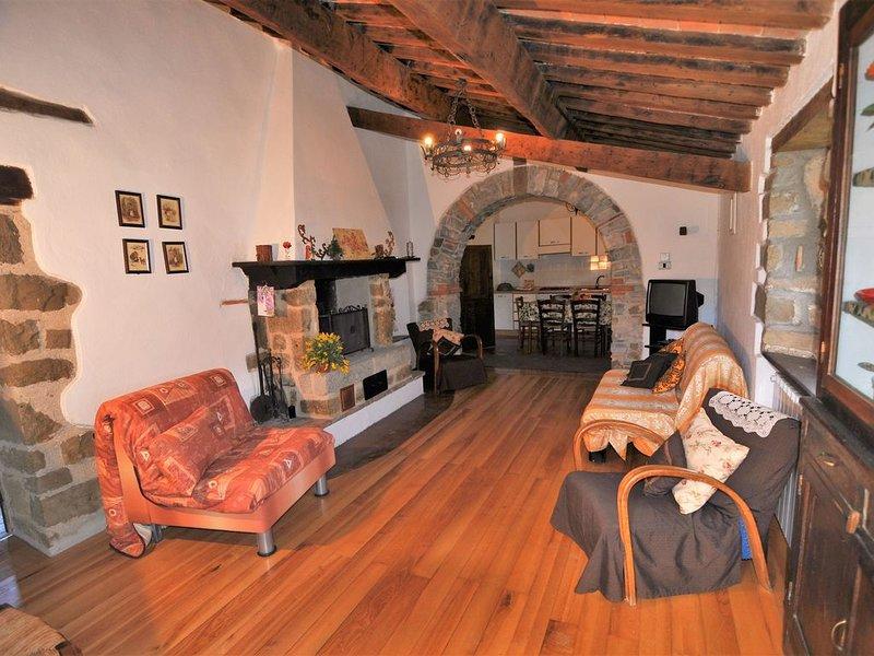 INVERNO (agr.La Guinza)- Natura e relax garantiti !!, holiday rental in Roccalbegna