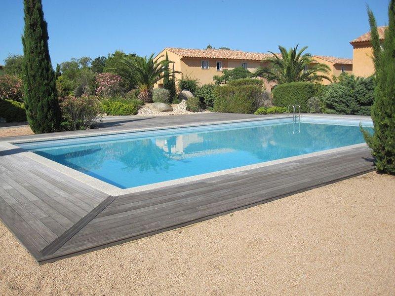 San Cipriano (St Cyprien), villa 6 pers climatisée, dans résidence de standing, location de vacances à Lecci
