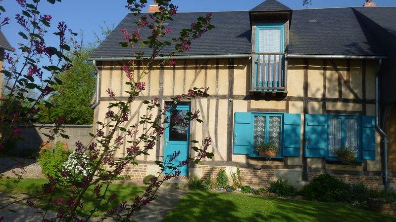 Gite ' de terre et de chanvre ' maison indépendante  Puits la Vallée, holiday rental in Pronleroy