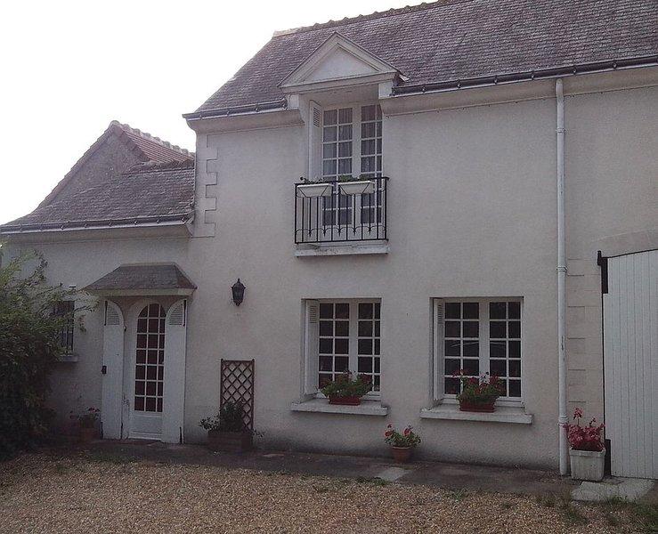 Très jolie dépendance rénovée proche d'Amboise et de Chenonceaux, alquiler vacacional en La Croix-en-Touraine