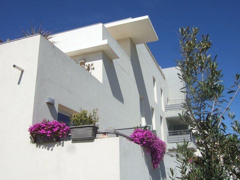 A SETE quartier VILLEROY   Bord de mer 100 m plage du LIDO T2 54 m² climatisé, vacation rental in Sete