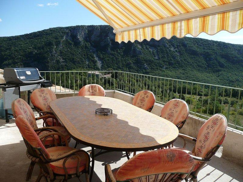 Gite du mas des Gourgues - 3***Grand Confort - En pleine nature, aluguéis de temporada em Alzon