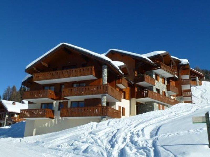 Appartement Paradiski 4 pièces 8 personnes 50m2 ski au pied Vallandry, casa vacanza a Vallandry
