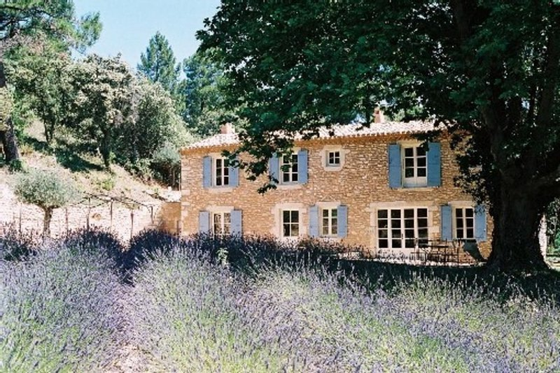 Mas traditionnel Provençal avec piscine dans site exceptionnel, location de vacances à La Baume-de-Transit