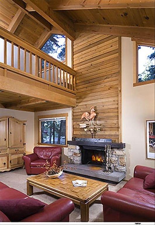 Living Room - Granlibakken 3bedroom/3bath Condo
