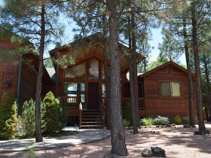 Gorgeous Cabin in woods, perfect for escaping summer heat!, location de vacances à Pinetop-Lakeside