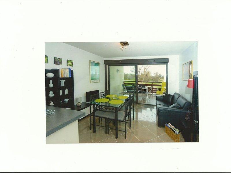 appart.classé ' 4 étoiles' dans résidence située au Golf international de St Cy, vacation rental in Alenya