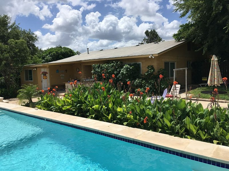 Omi's Bed and Breakfast Farm, Vineyard and Pool, Winter Texans wanted 2020, holiday rental in Schertz