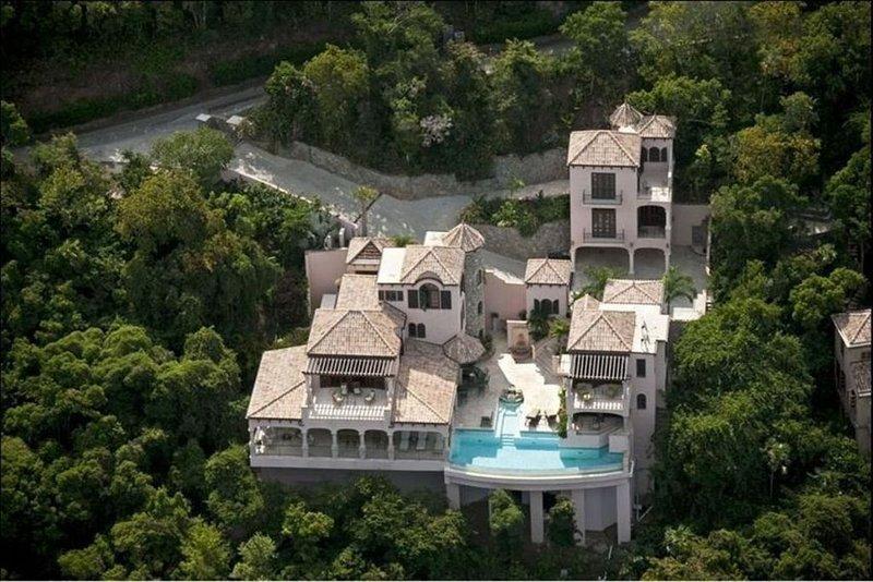 Villa Carlota - aerial view
