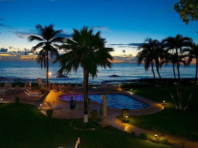 Sunset Views from the Balcony!