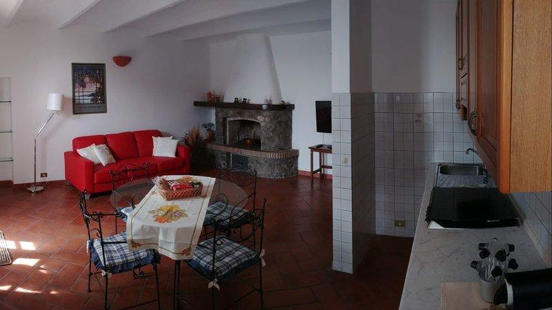 Maremma: caratteristico appartamento a Montiano a soli 15  mare per 4 persone, u, vacation rental in Montiano