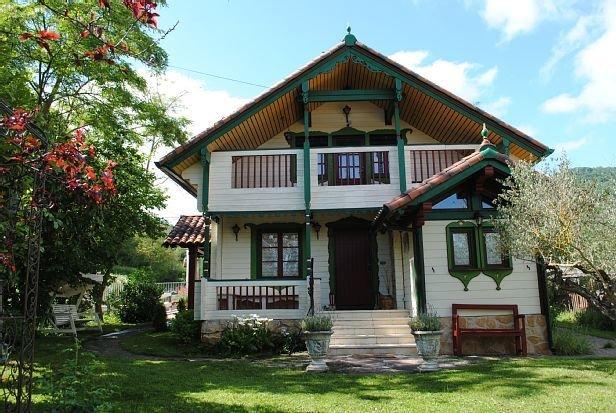 Casa rural (alquiler íntegro) La Casita del Río para 7 - 9 personas (consultar), holiday rental in Ollogoyen