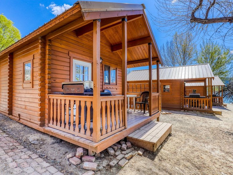Get away from it all at this rustic, dog-friendly, dry cabin by the lake!, holiday rental in Electric City