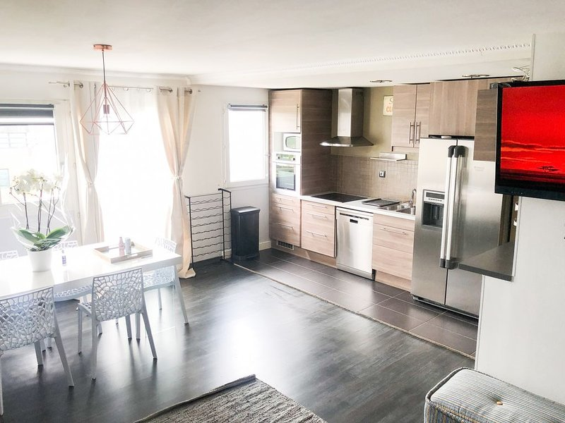 DUPLEX AGREABLE DISNEYLAND PARIS, vacation rental in Torcy