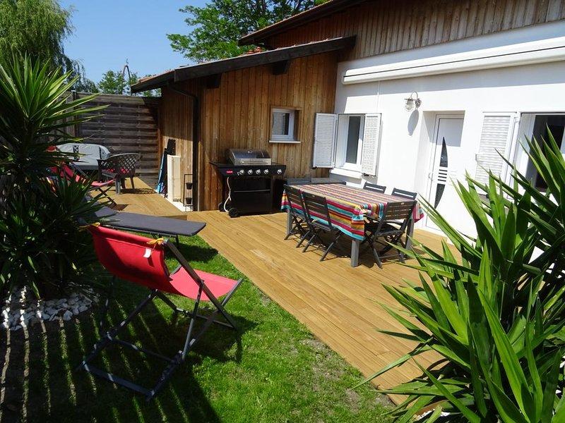 Location villa Yucca classée 3 étoiles, holiday rental in Gujan-Mestras