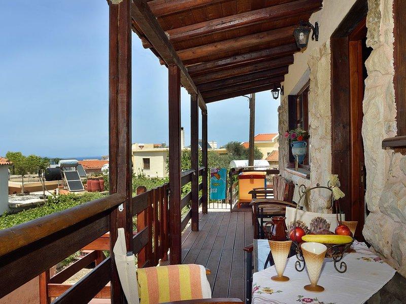 Liogerma Country House in Almyrida beach, location de vacances à Plaka