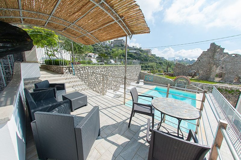 Lo Smeraldo Luxury Home Ravello, vacation rental in Pontone