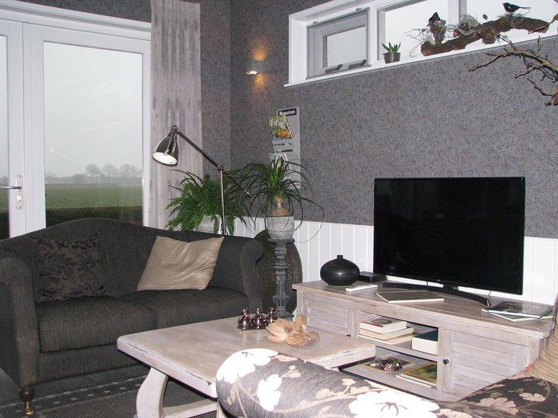 Riante Lodge met vrij uitzicht op 1 km van het zuiderstrand van Walcheren., location de vacances à Koudekerke