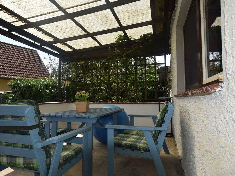 Peaceful Bungalow in Diedrichshagen near Baltic Sea, casa vacanza a Wittenbeck