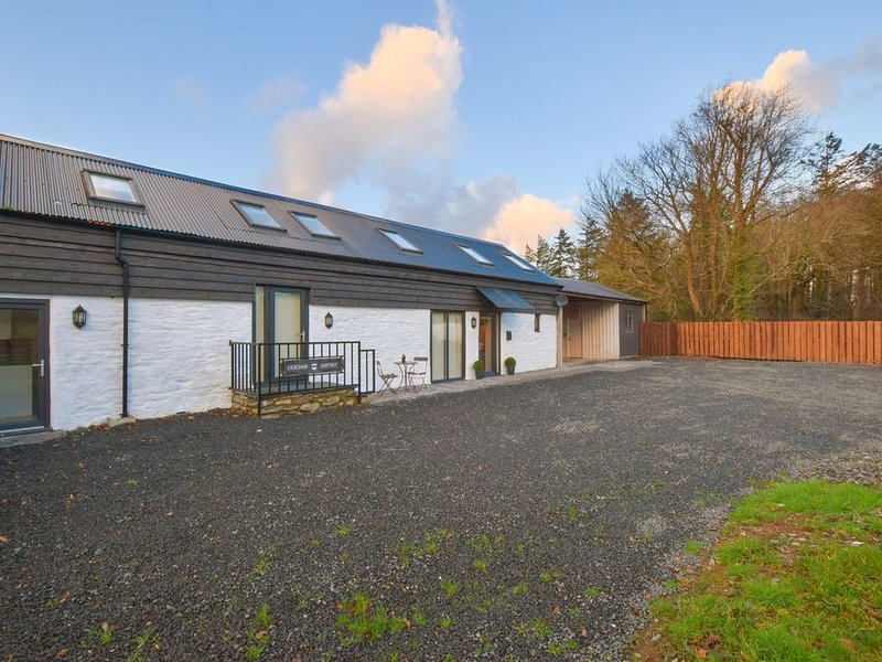 Spacious and scenic – this semi-detached converted barn offers a great base to d, vacation rental in Corris