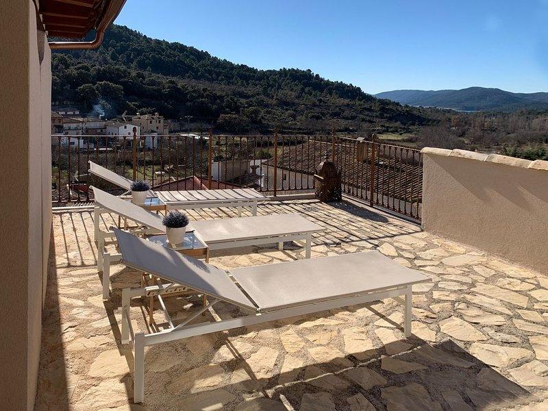 Casa rural (alquiler íntegro) La Princesa llorona para 13 personas, holiday rental in Corcoles