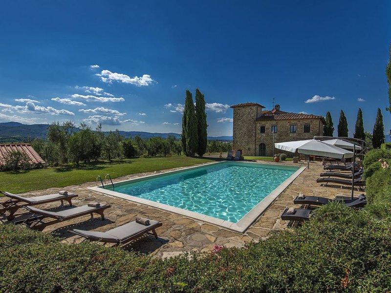 Villa Petrea, Bucine, Arezzo and Cortona, alquiler de vacaciones en Bucine