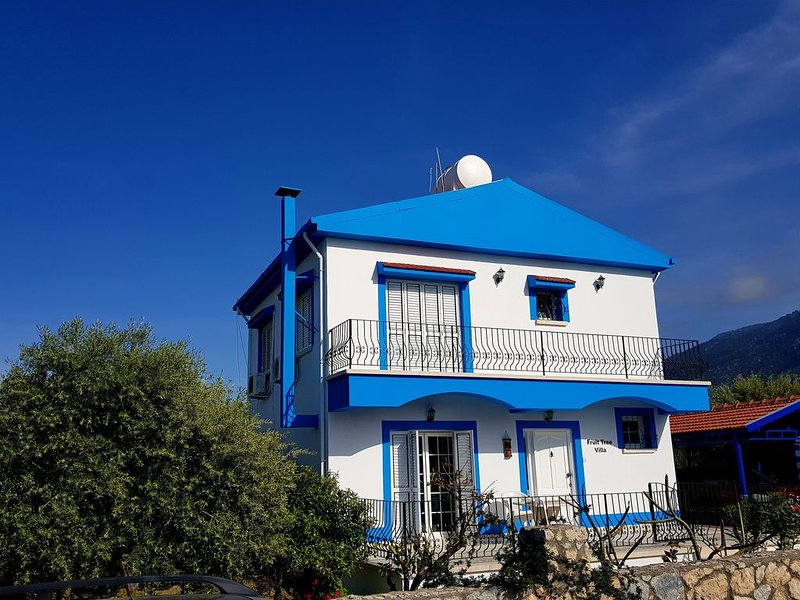 Fruit Tree Villa With spectacular Mountain And Sea Views, vacation rental in Lapta