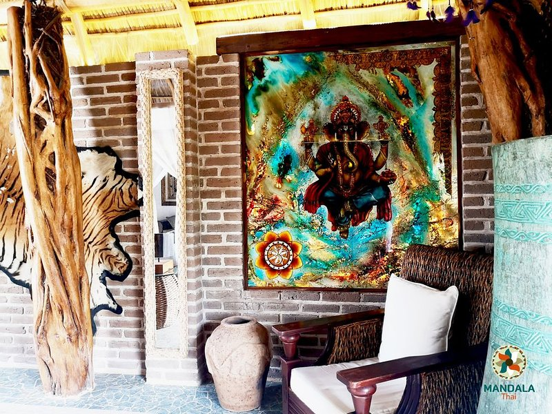 Krishna, habitación boutique exclusiva para dos, location de vacances à San Juan Cosala