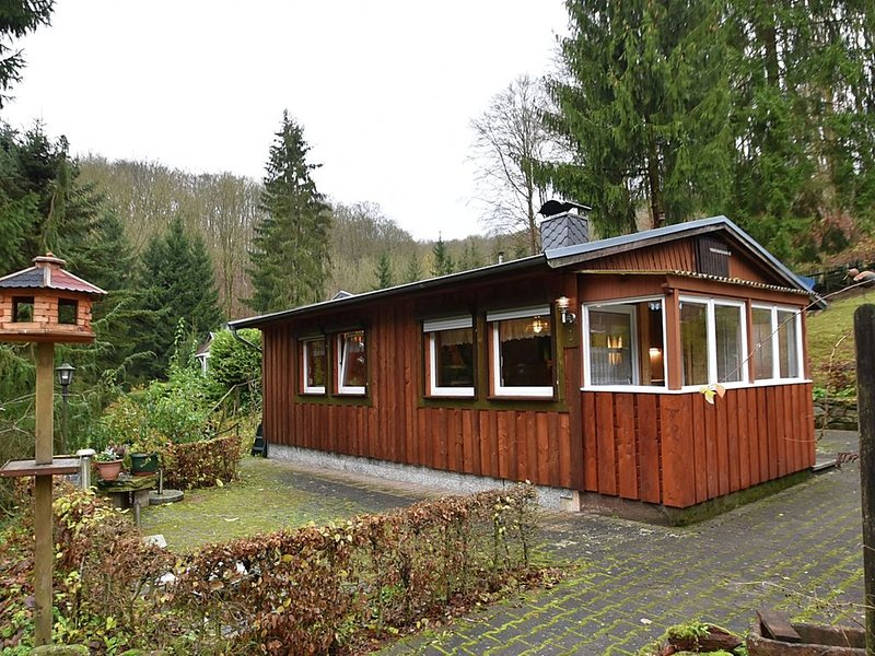 Luxurious Bungalow in Neustadt/Harz with Private Terrace, holiday rental in Urbach