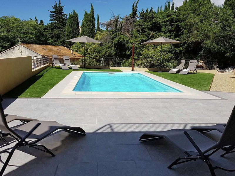 Luxurious Villa in Montouliers with Private Pool, holiday rental in Villespassans