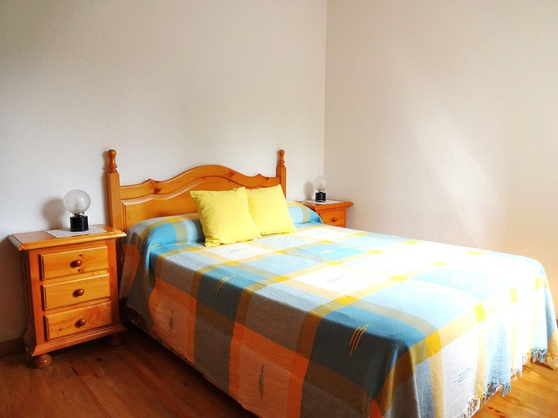 Appartement économique 4/5 PERS : 2 chambres proche Espagne avec garage et jardi, holiday rental in Osseja