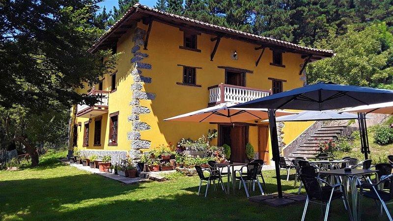 Albergue Rural Mandoia, holiday rental in Artea