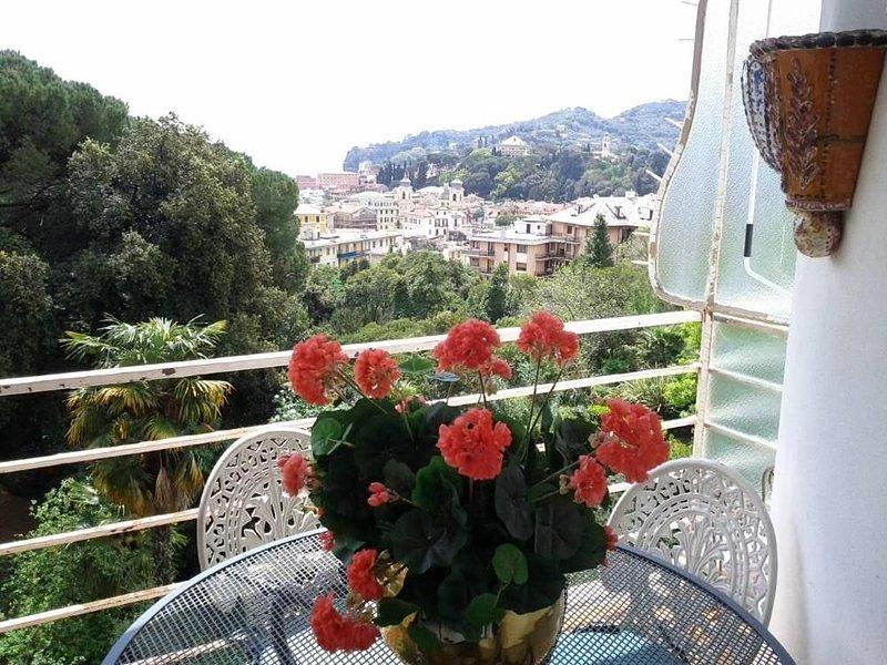 Un nido di pace e di verde vicino al mare, casa vacanza a Santa Margherita Ligure