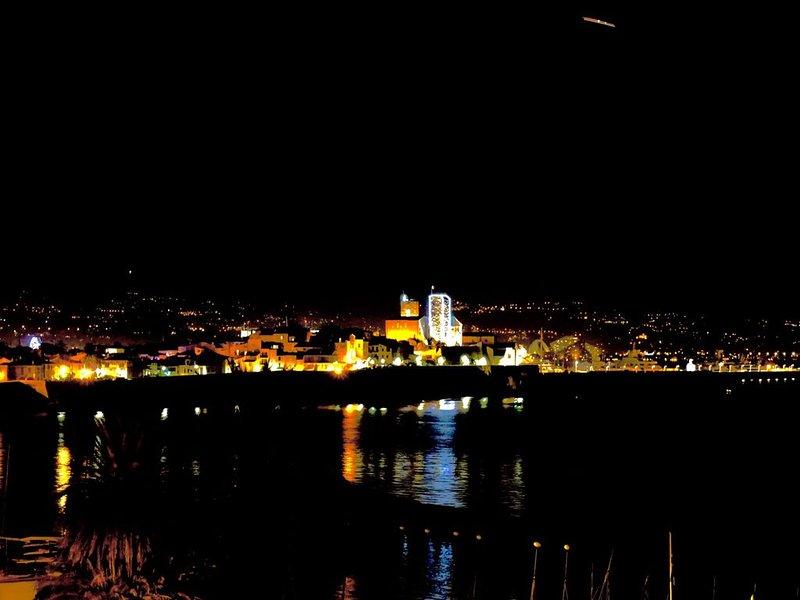 Die Altstadt von der Terrasse.