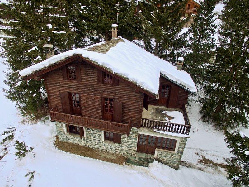 Chalet vicino alle piste da sci di Champoluc, holiday rental in Ayas