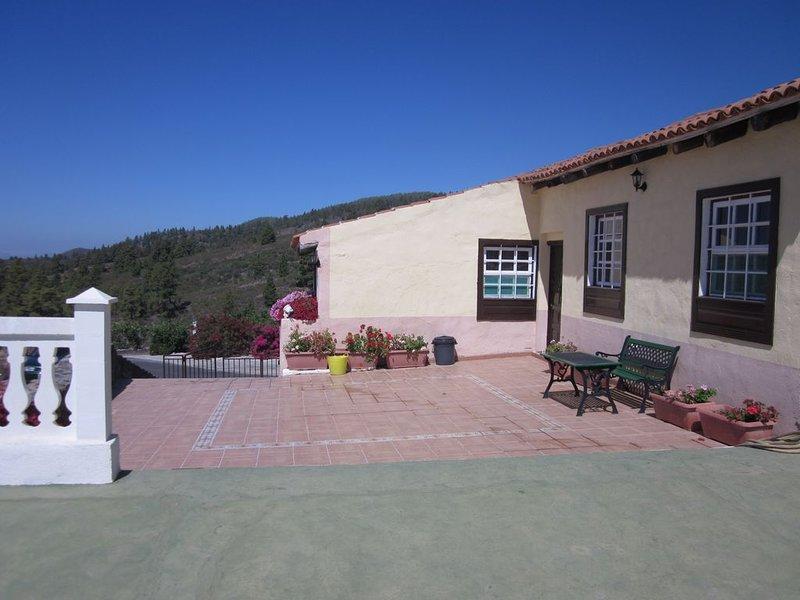 Casa Rural con impresionantes vistas para disfrutar en familia., holiday rental in Granadilla de Abona