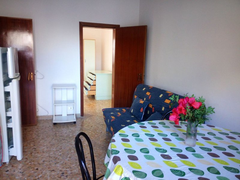 Casa Vacanze Otranto Rent Private Center - Living Room Kitchen