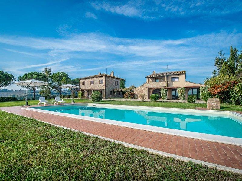 Casale con piscina, in Umbria, alquiler de vacaciones en Marsciano